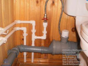 монтаж канализации частного дома