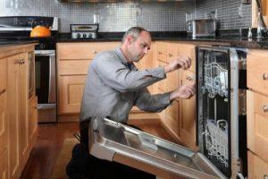 Установка посудомоечной машины нашими мастерами