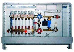 Система автоматики для водяного теплого пола