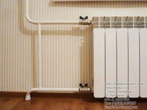 Замена радиаторов нашей компанией